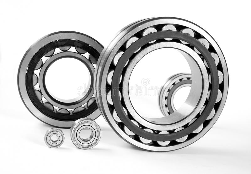 Bearing. S on a white background stock image