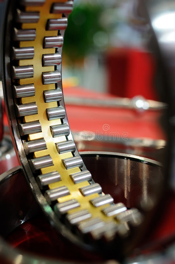 Download Bearing without inner ring stock photo. Image of brass - 32429516