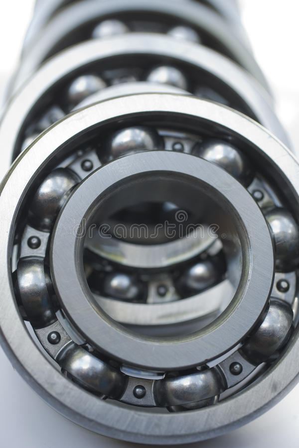 Bearings. A lot of different bearings royalty free stock photos
