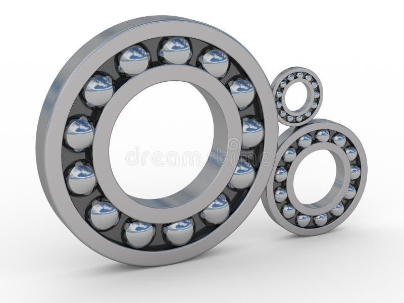 Download Bearings stock illustration. Image of anti, mechanics - 3143856