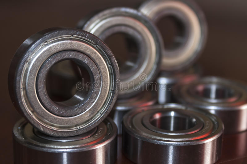 Bearings. Aligned in a row royalty free stock images