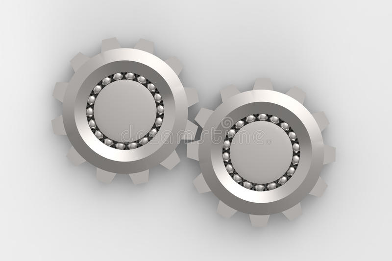 Download Bearings connection stock illustration. Image of machinery - 25789199