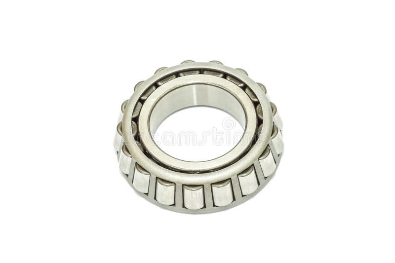 Bearings. Spare bearings on white backgroung stock images