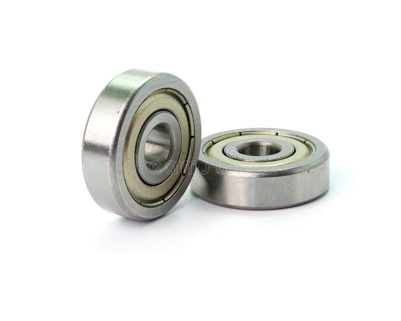 Bearings tool isolated on white background stock photography
