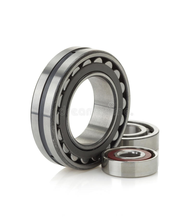 Bearings tool on white. Background royalty free stock images