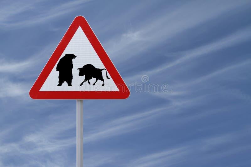 Download Bearish or Bullish? stock image. Image of finance, animal - 25008621