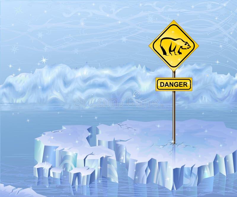 Download Bears danger sign stock vector. Illustration of iceblink - 5137273