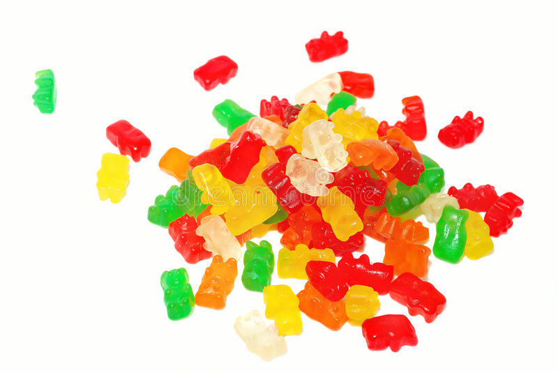 Bears Sweets. royalty free stock image
