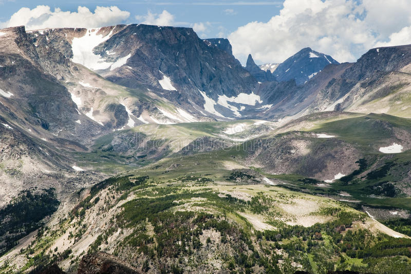 Download Bears Tooth stock photo. Image of snow, valley, peaks - 13289740