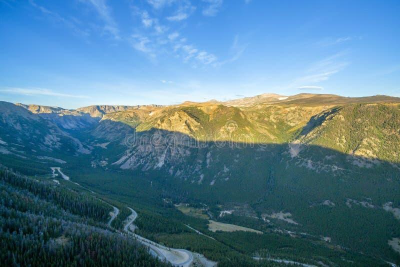 Beartooth山景 图库摄影