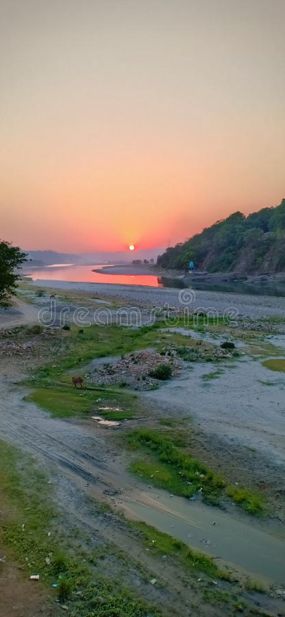 Beas river royalty free stock images