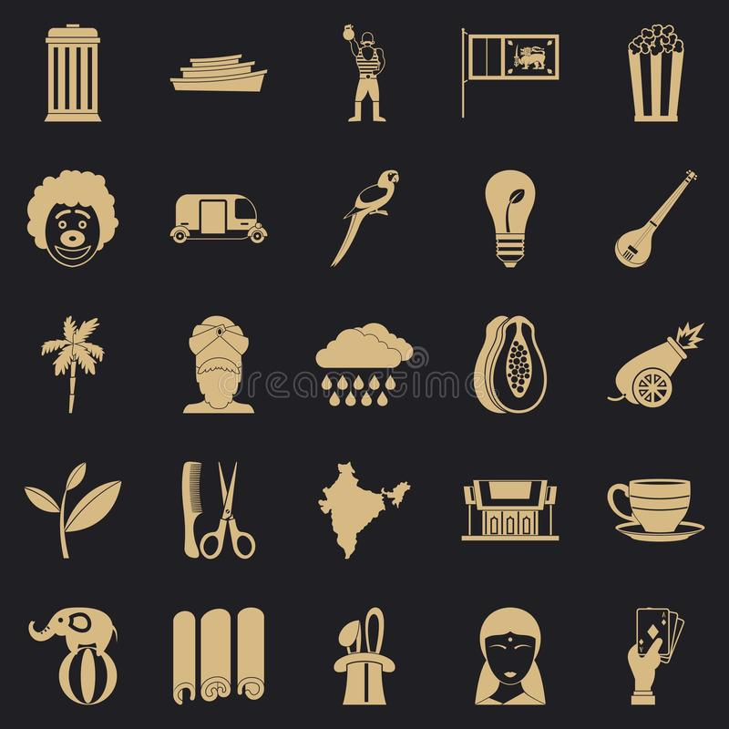 Beastly icons set, simple style. Beastly icons set. Simple set of 25 beastly vector icons for web for any design vector illustration