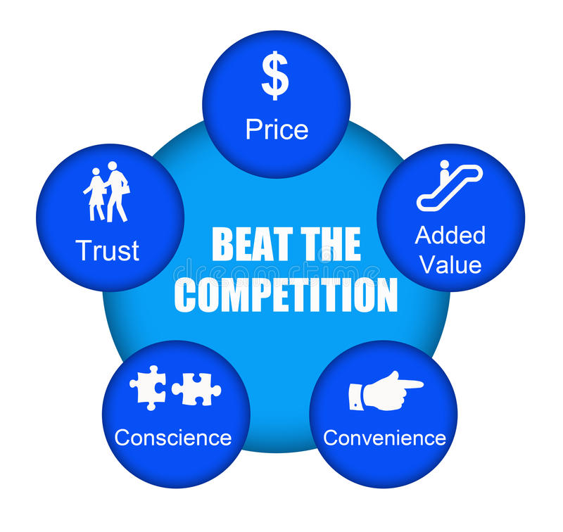 Free Beat The Competition Stock Photography - 15672562