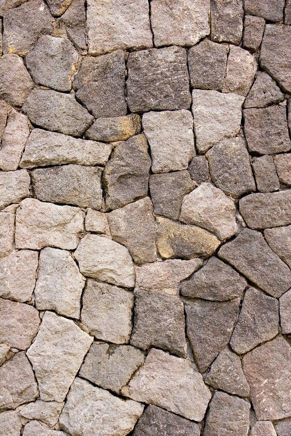 Beat Up Rock Wall royalty free stock image