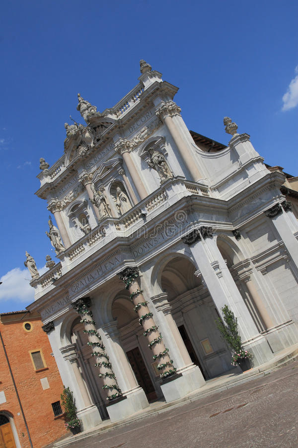 Beata Vergine Sanctuary Stock Photography