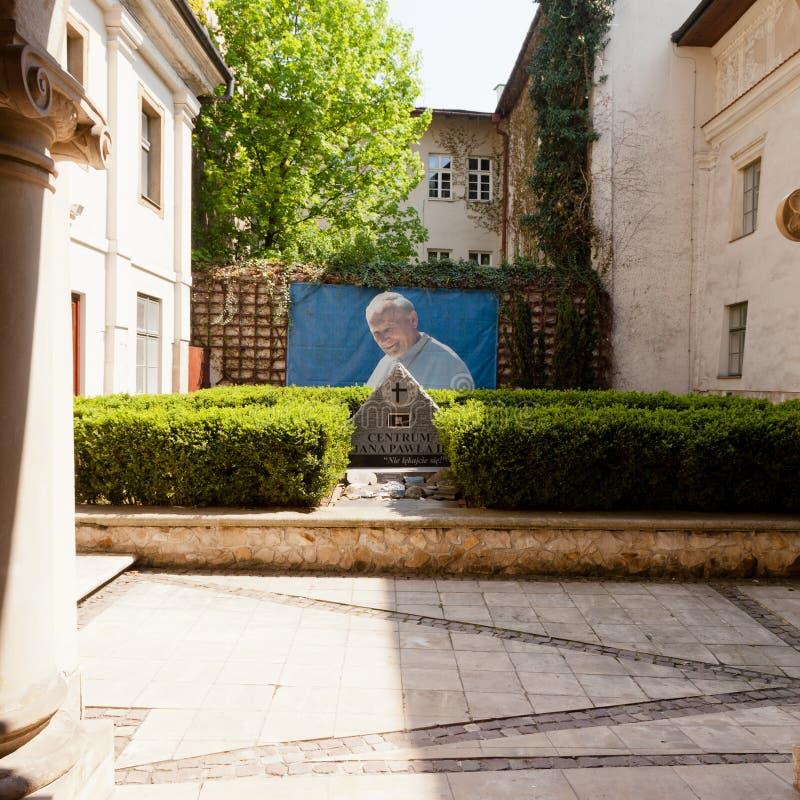 Beatification van Paus John Paul II stock afbeeldingen