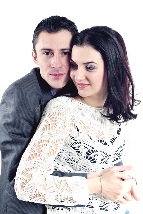 Beatiful Couple Valentines Day Royalty Free Stock Photography