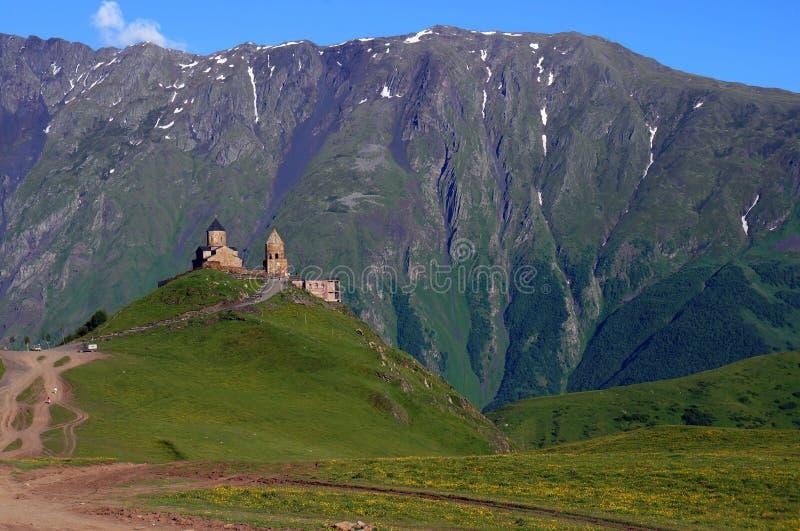 Beatiful valley in Georgia royalty free stock photo