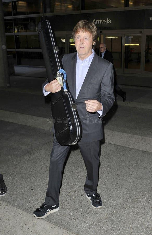 Beatle anterior Paul Macartney em RELAXADO fotografia de stock