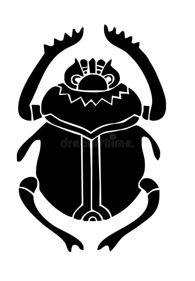 Beatle de scarabée images stock