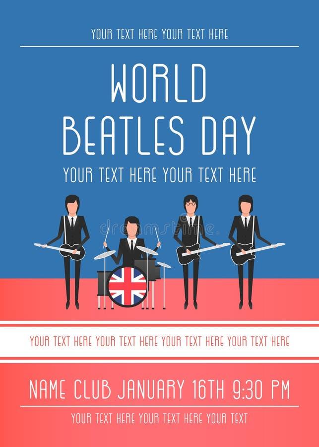 Beatles带 皇族释放例证