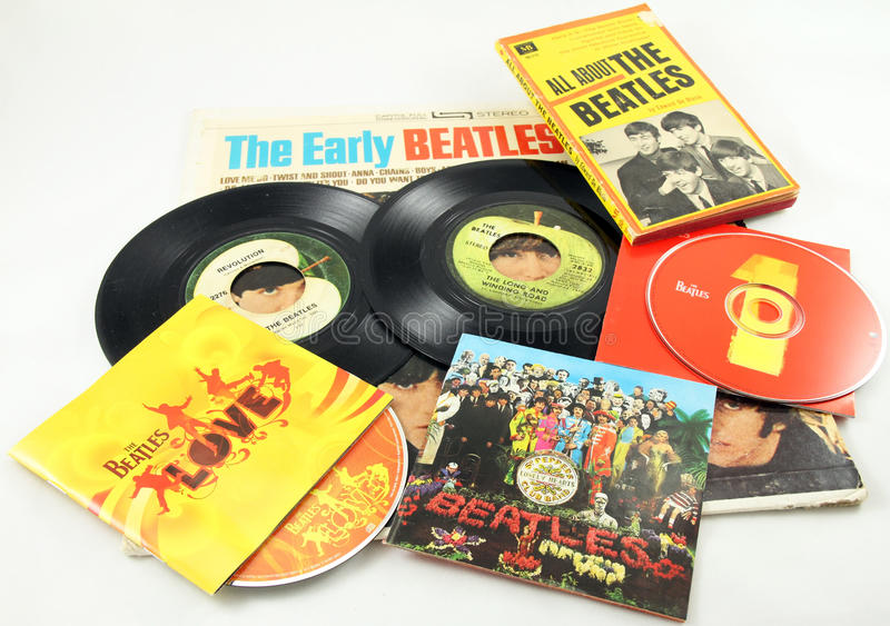 Beatles d'annata fotografie stock