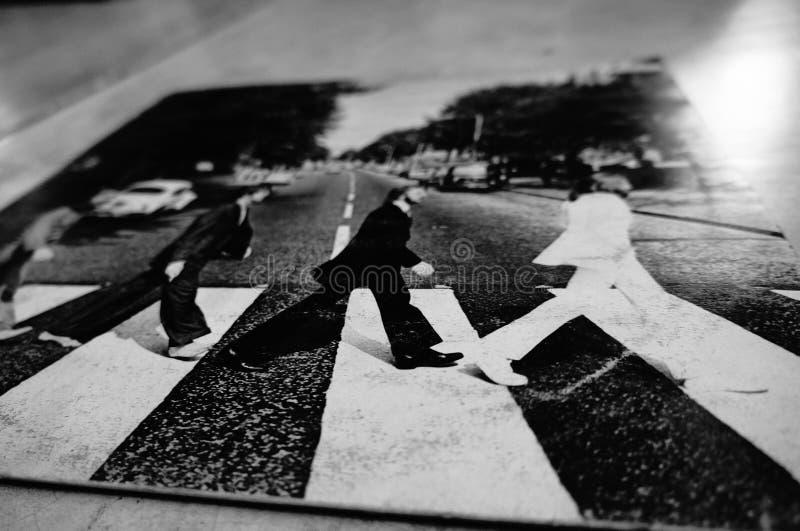 Beatles //Los Beatles 免版税库存照片