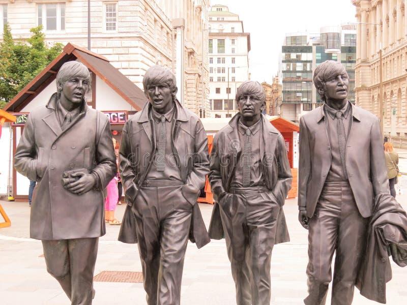 Beatles op Reis stock afbeelding