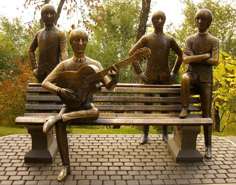 beatles pomnikowi obraz royalty free