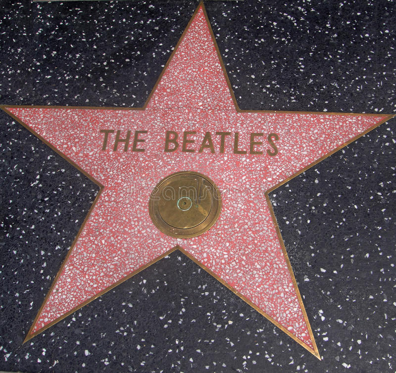 The Beatles Star Editorial Stock Image