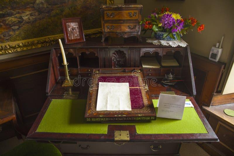 Beatrix Potters Writing Desk royalty-vrije stock afbeelding