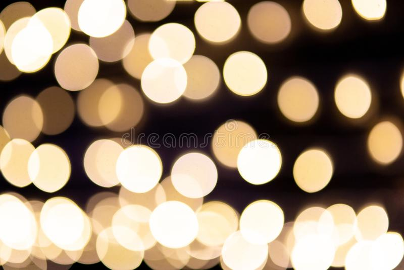 Beau bokhe léger brouillé pour la matière de base photographie stock