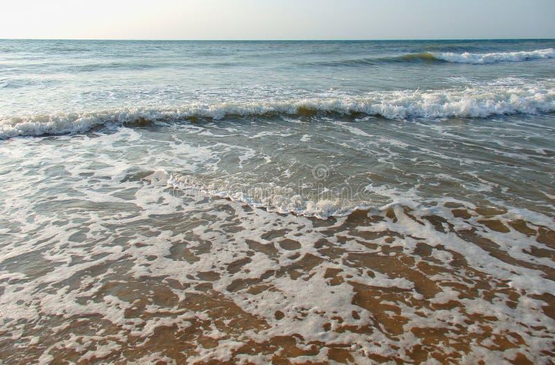 Beau bord de la mer de colorfull photos libres de droits