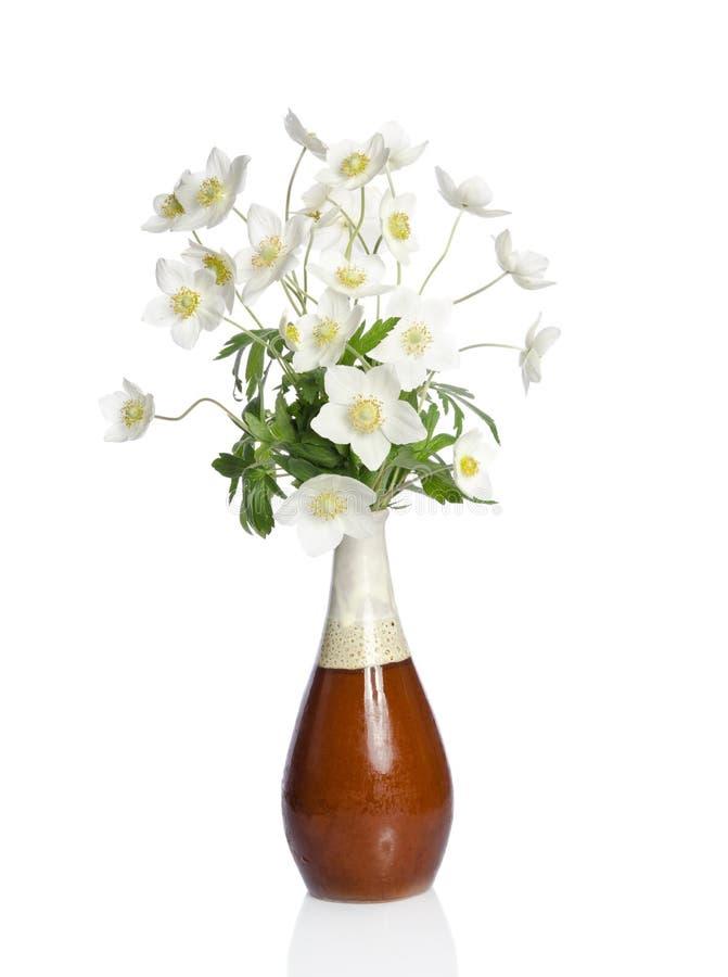 Beau bouquet des fleurs blanches photos stock