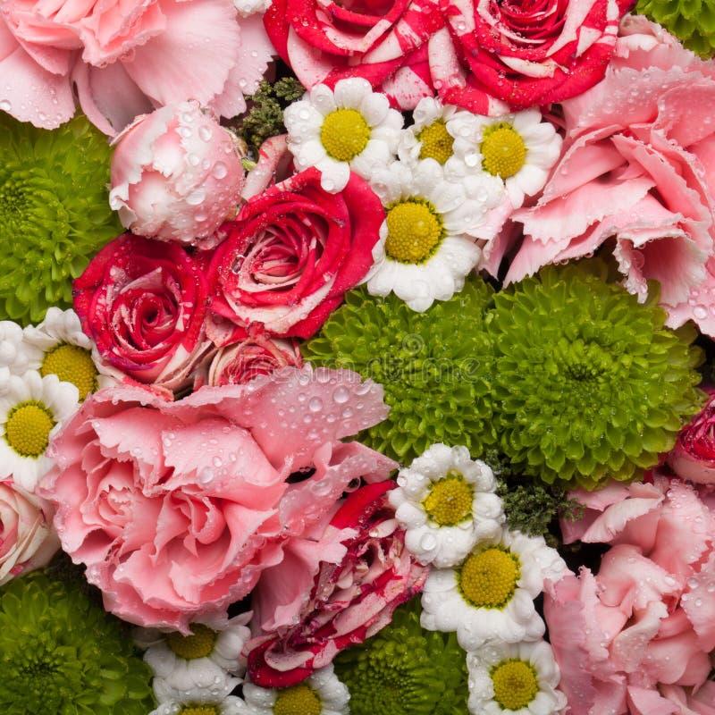 Beau bouquet des fleurs naturelles Foyer sélectif F peu profond photo stock
