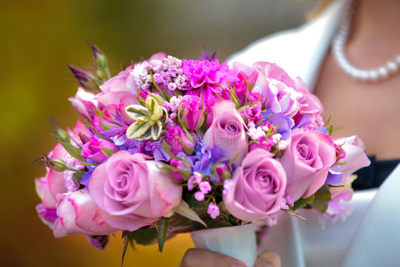 Beau bouquet nuptiale photo stock