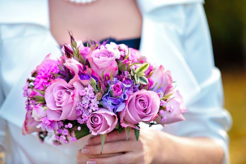 Beau bouquet nuptiale images stock