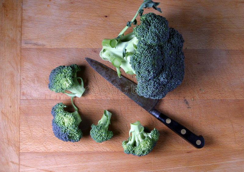 Beau broccoli photos libres de droits