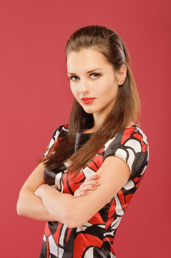 Beau brunette photos stock
