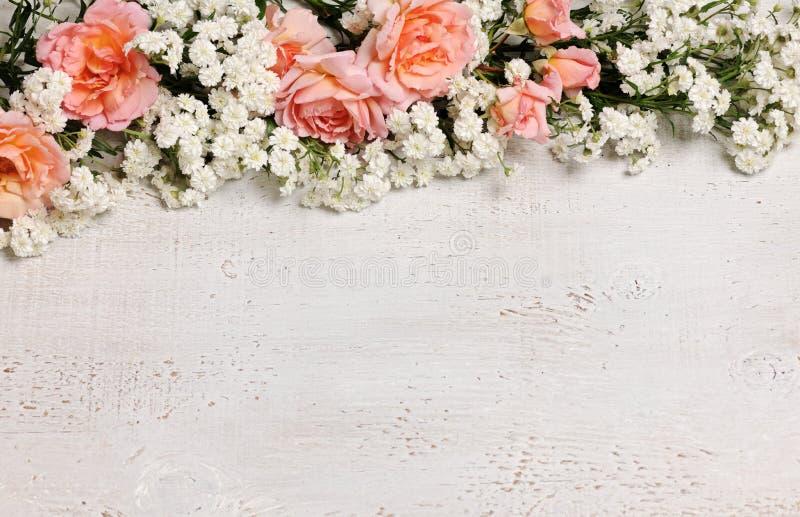 Beau cadre floral photos stock