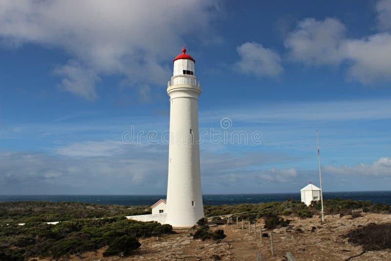 Beau cap Nelson de phare dans l'Australie photo libre de droits