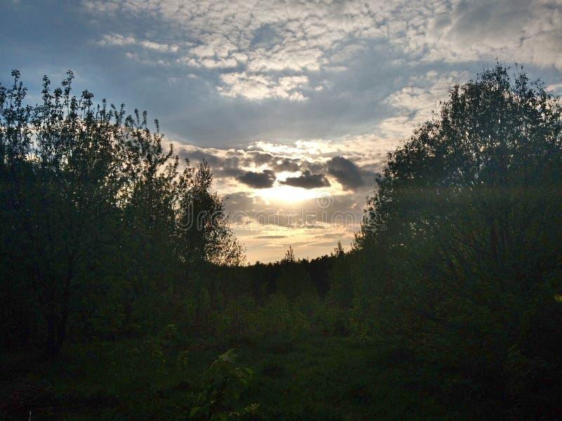 Beau ciel image stock
