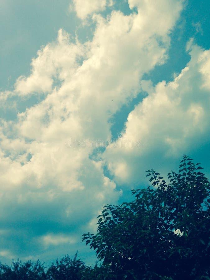 Beau ciel images stock