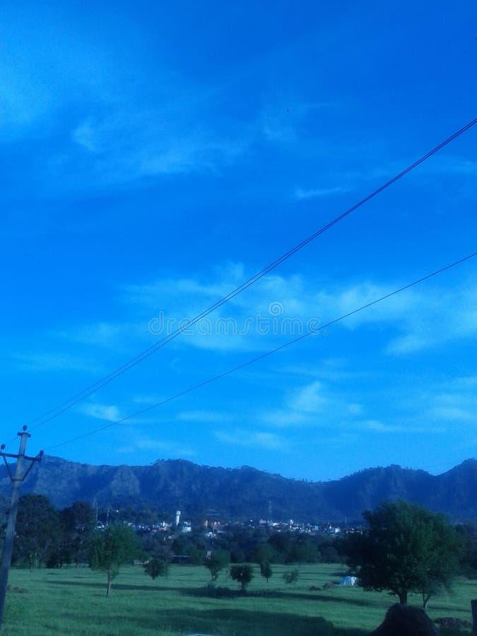 Beau ciel bleu image libre de droits