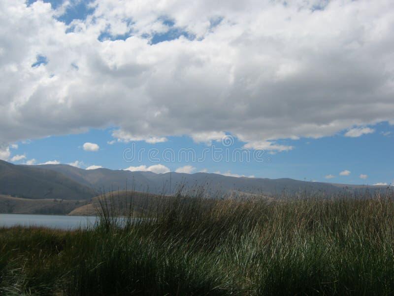 Beau ciel dans Perú image stock