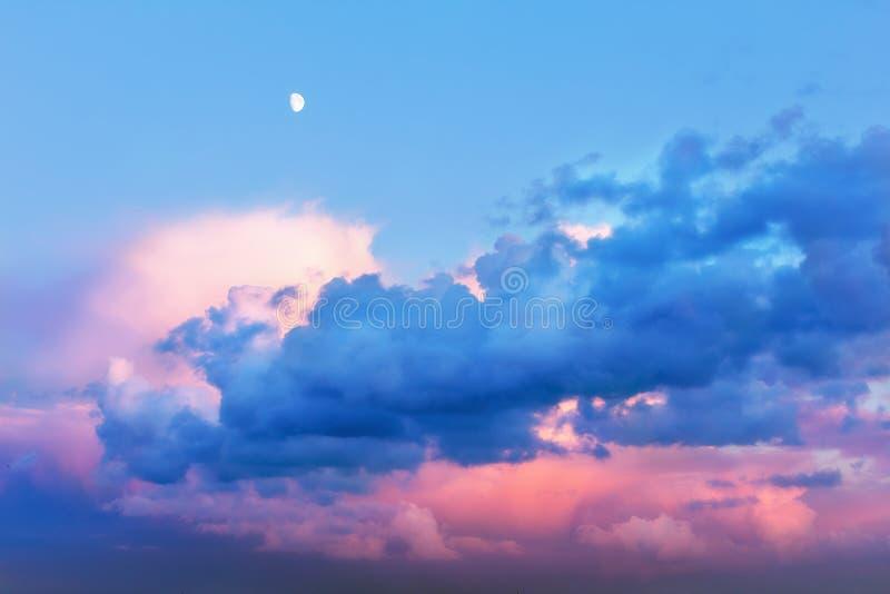 Beau ciel féerique photographie stock