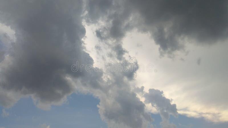 Beau ciel HDR photos stock