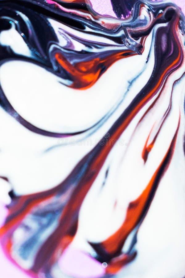 Beau coloré de la peinture à l'huile images stock