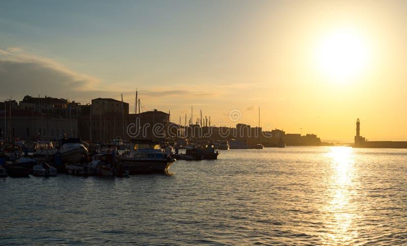 Beau coucher du soleil image libre de droits