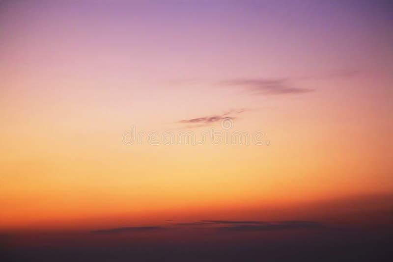 Beau coucher du soleil dans Great Smoky Mountains photos libres de droits
